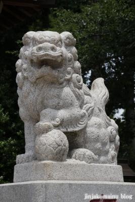 野川神明社(川崎市宮前区野川)13