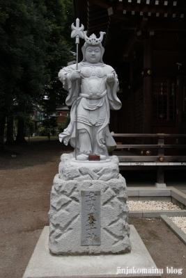 野川神明社(川崎市宮前区野川)18