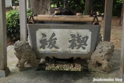 野川神明社(川崎市宮前区野川)6