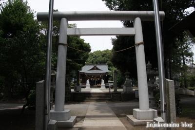 野川神明社(川崎市宮前区野川)11