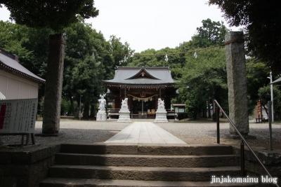野川神明社(川崎市宮前区野川)12