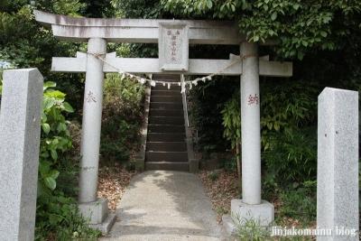 御嶽山神社(川崎市高津区野川)2