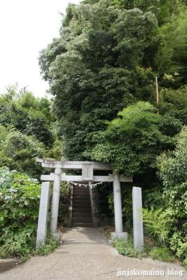 御嶽山神社(川崎市高津区野川)1