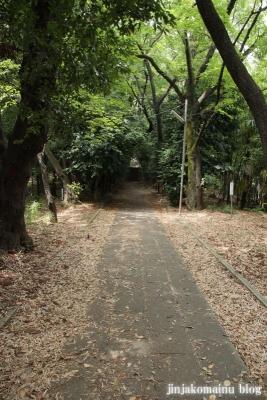 山田神社(横浜市都筑区南山田町)16