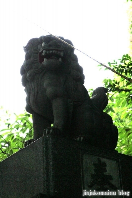 山田神社(横浜市都筑区南山田町)19