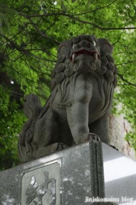 山田神社(横浜市都筑区南山田町)20