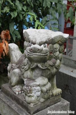 元赤城神社(新宿区早稲田鶴巻町)6