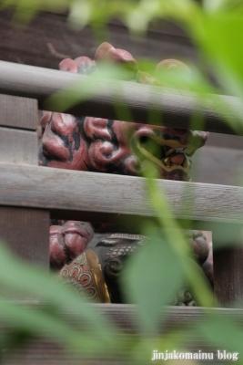 元赤城神社(新宿区早稲田鶴巻町)10