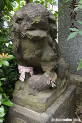 元赤城神社(新宿区早稲田鶴巻町)11