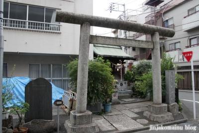 元赤城神社(新宿区早稲田鶴巻町)1