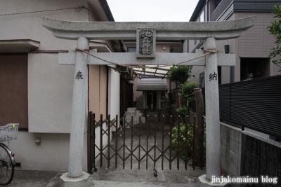 池立神社(新宿区喜久井町)2