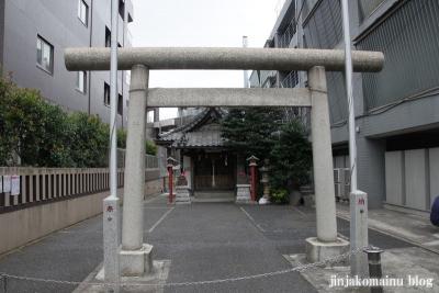 宝禄稲荷神社(新宿区原町)1