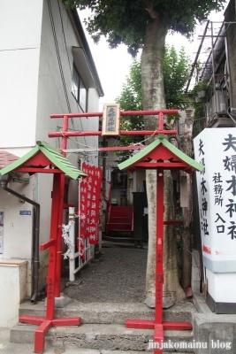 夫婦木神社(新宿区大久保)1