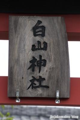白山神社(久喜市古久喜)3