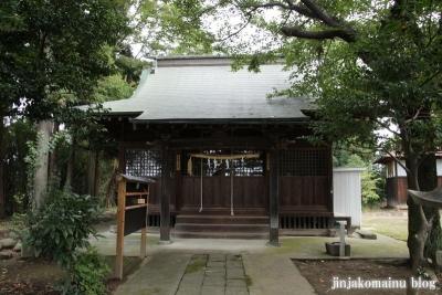 香取神社(久喜市上川崎)4