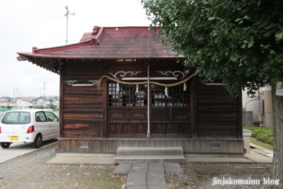 八幡神社(久喜市上清久)4