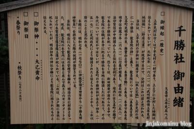 上早見千勝神社(久喜市上早見)3