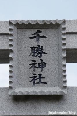 上早見千勝神社(久喜市上早見)5