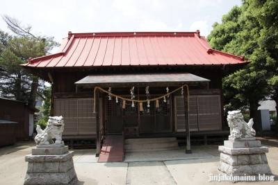 白幡雷電神社(久喜市上清久)6