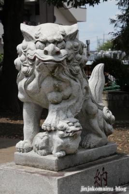 白幡雷電神社(久喜市上清久)7