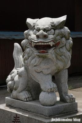 白幡雷電神社(久喜市上清久)8