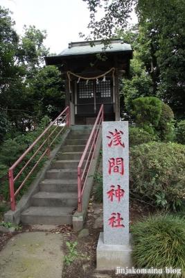 白幡雷電神社(久喜市上清久)11