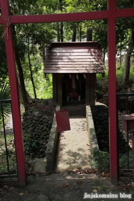 白幡雷電神社(久喜市上清久)13