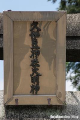 久伊豆神社(久喜市北中曽根)3