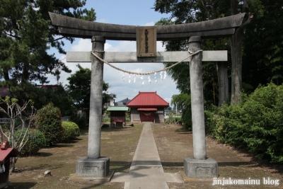 久伊豆神社(久喜市北中曽根)2