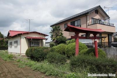 諏訪神社(久喜市北中曽根)1