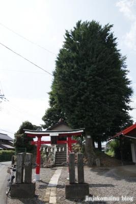 愛宕神社(久喜市北中曽根)1