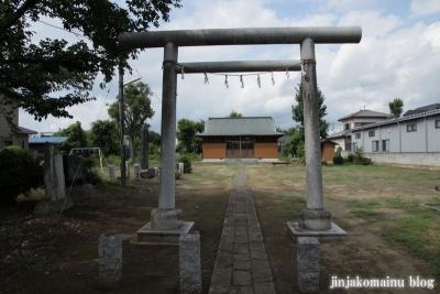 六所神社(久喜市六万部)2
