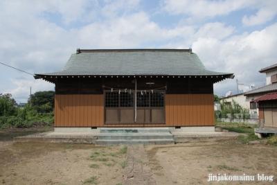 六所神社(久喜市六万部)4