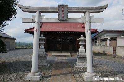 長宮神社(久喜市上清久)2