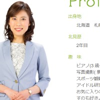笹沼智子アナ