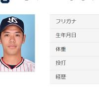 小川泰弘投手