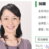 加藤由香アナ