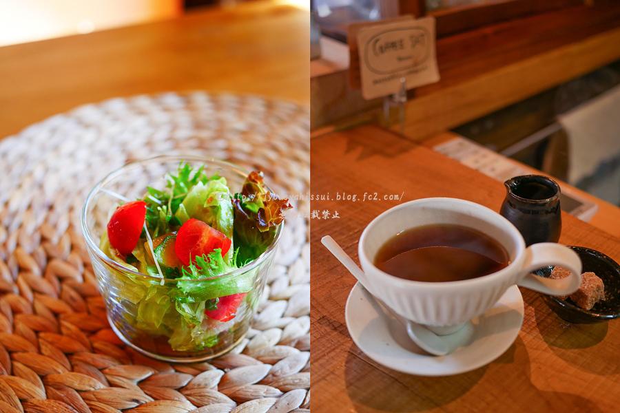 サラダ・コーヒー