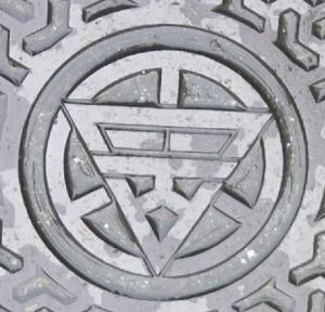 旧富岡市市章