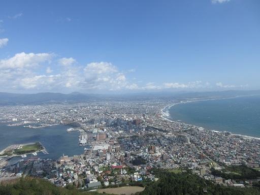 函館山展望台より