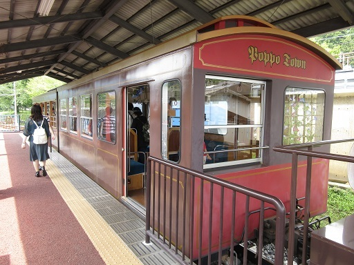 碓氷峠鉄道文化むらトロッコ列車