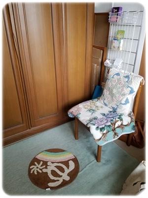 くつろぎスペースと椅子