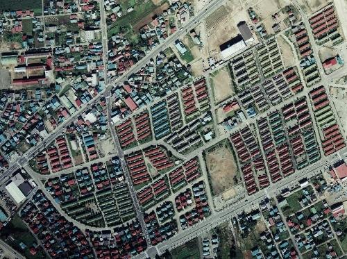 空中写真 1976年 ひばりが丘団地