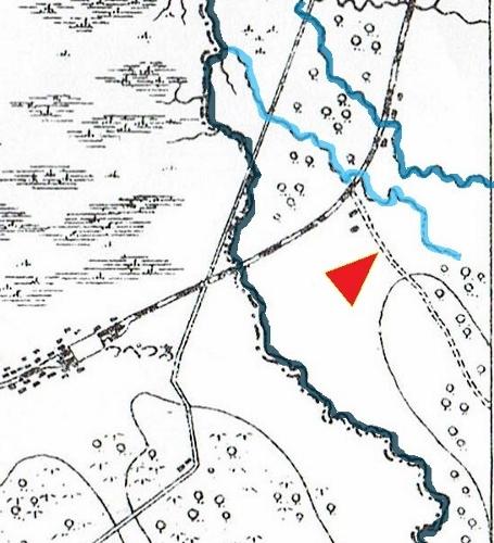 明治29年地形図 試験場線 原型