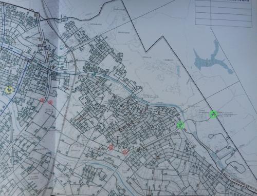厚別区認定道路網図 試験場線 官林東線
