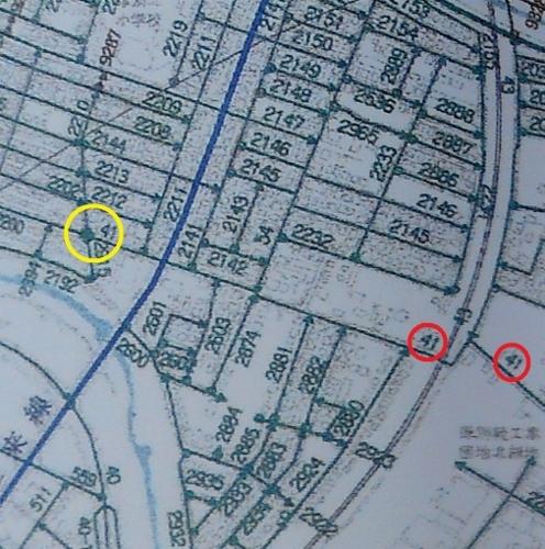 厚別区認定道路網図 試験場線 起点