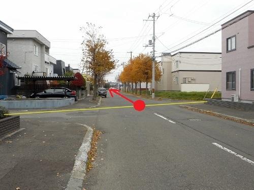 市道試験場線 起点 現在の風景