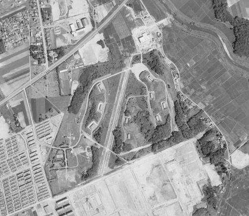 空中写真 1966年 厚別弾薬庫周辺