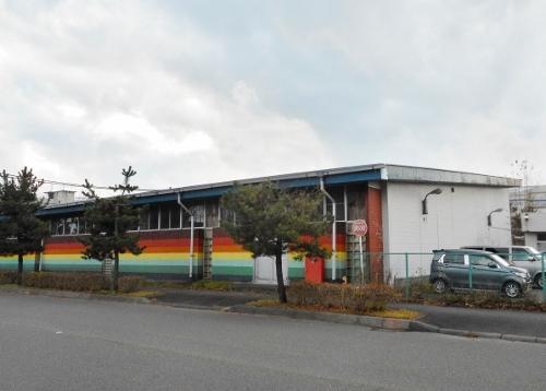 苫小牧 王子 元スーパーマーケットの建物