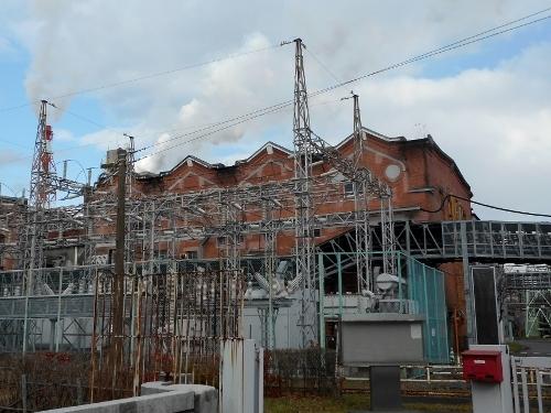 苫小牧 王子製紙工場 変電所
